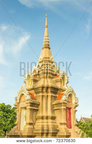 Wat Liap  temple, Nakhon Ratchasima, Thailand.