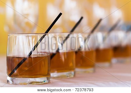 Rhythm Raw Of Whisky Cola Glasses