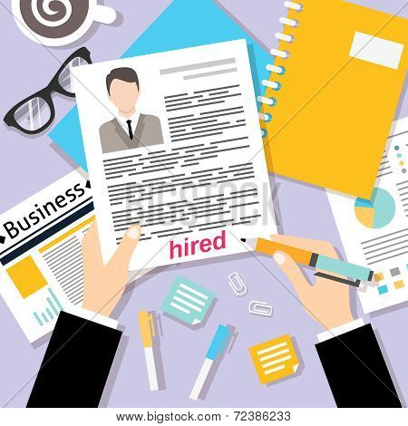 Business cv background