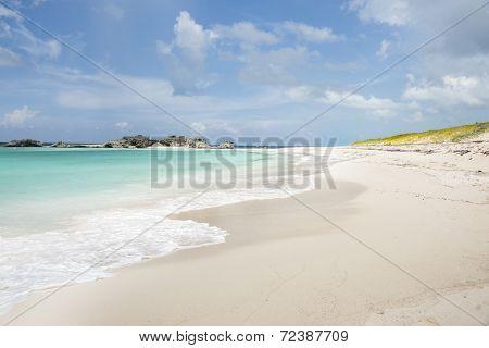Tropical beach background.