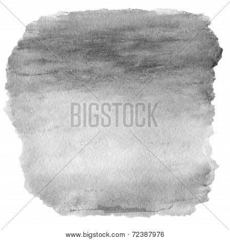 Beautiful Watercolor Design Elements For Design. Watercolor Stains Isolated On White.