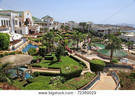 Tropical Luxury Resort Hotel, Egypt.