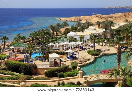 Tropical Luxury Resort Hotel, Egypt.