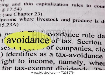 Tax Avaoidance