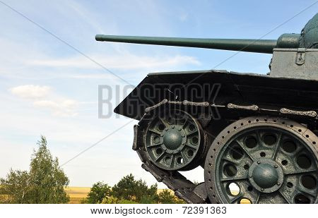 The Front Edge Of Military Technology. Tank.