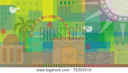 Abstract Jerusalem