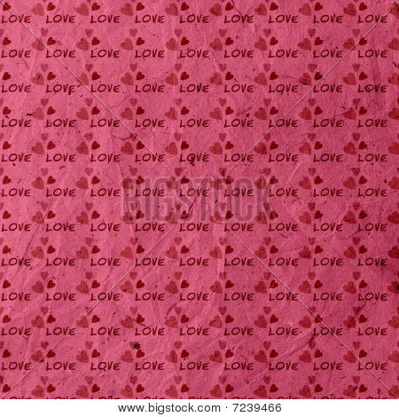 Love Hearts Romantic Valentine Background