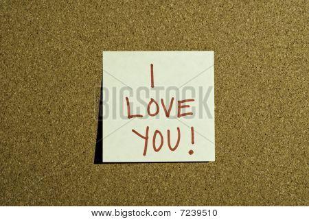 Love Note Post it