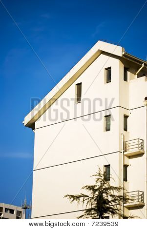 Apartment Building Under Blue Sky - Urban Living