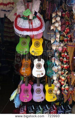 Minature Spanish Guitars