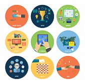 stock photo of payment methods  - Icons for online shop e - JPG