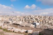 stock photo of amman  - Roman Ruins of the Citadel Amman Jordan - JPG