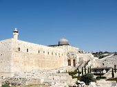 foto of aqsa  - Panorama of Al-Aqsa Mosque in Jerusalem Israel