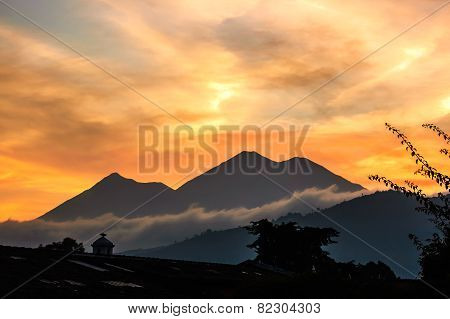 Sunset Volcano View
