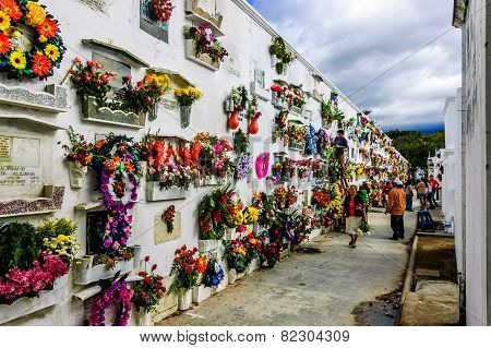 Cemetery, Antigua, Guatemala