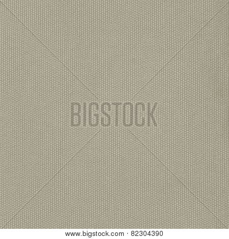 Beige Khaki Cotton Fabric Texture Background, Detailed Macro Closeup, Large Vertical Textured Linen