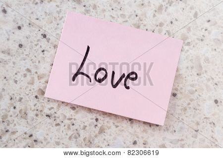 Love Note