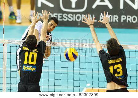 Paok Aris Greek Volley League