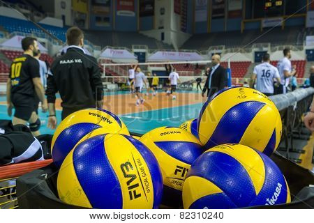 Paok Aris Greek Volley League
