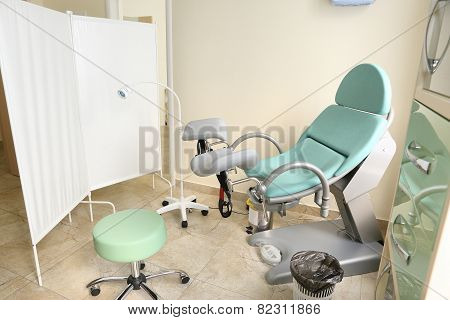 gynecological cabinet  interior