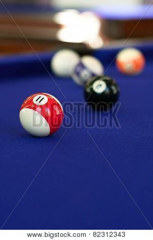 Pool Table Billiard Balls