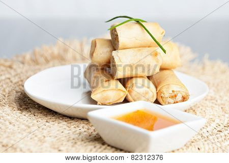 Thai Spring Roll Appetizers