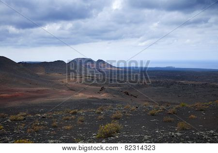 Timanfaya National Park , Parque Nacional De Timanfaya, Entirely Volcanic Landscape
