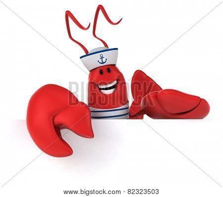 Fun lobster