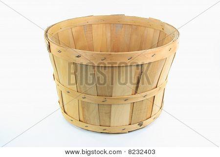 Wooden Bushel.