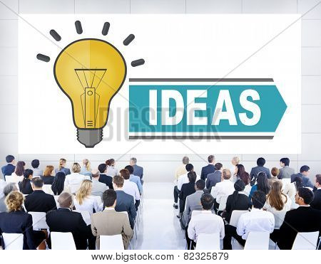 Aspirations Ideas Thinking Innovation Vision Strategy Concept