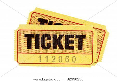 Yellow Admission Tickets