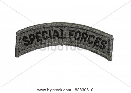 Us Army Special Forces Badge Isolated