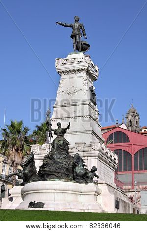 Henry the Navigator Monument (Infante Dom Henrique), Porto, Portugal