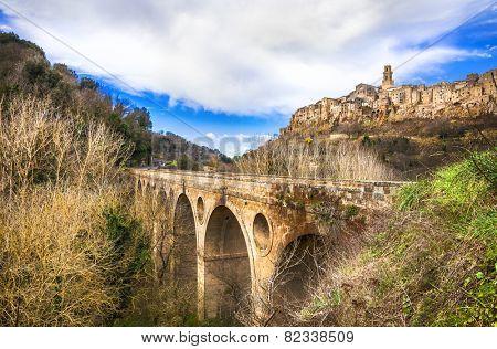 medieval Italy series - Pitigliano, Tuscany