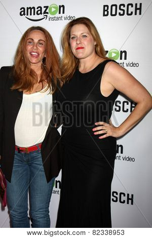 LOS ANGELES - FEB 3:  Tawny Kitaen, Jenica Bergere at the