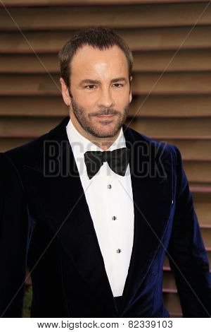 WEST HOLLYWOOD - MAR 2:: Tom Ford at the 2014 Vanity Fair Oscar Party on March 2, 2014 in West Hollywood, California