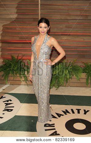 WEST HOLLYWOOD - MAR 2:: Jenna Dewan-Tatum at the 2014 Vanity Fair Oscar Party on March 2, 2014 in West Hollywood, California