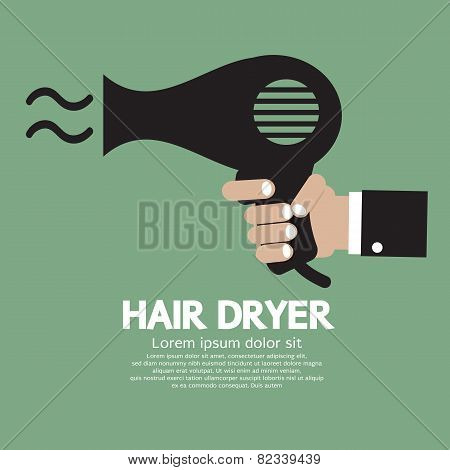 Hair Dryer.