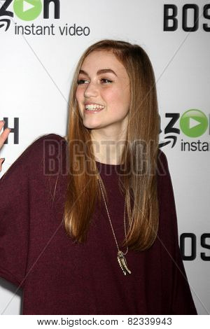 LOS ANGELES - FEB 3:  Madison Lintz at the