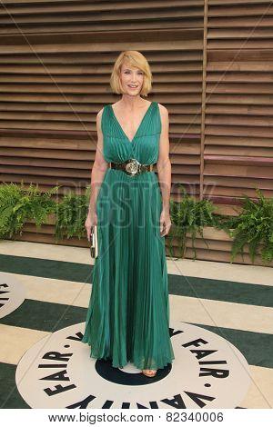 WEST HOLLYWOOD - MAR 2:: Kelly Lynch at the 2014 Vanity Fair Oscar Party on March 2, 2014 in West Hollywood, California
