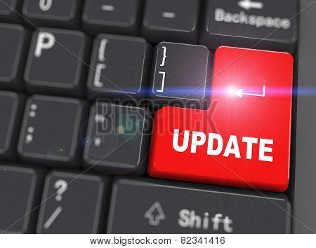 3D Keyboard - Word Update