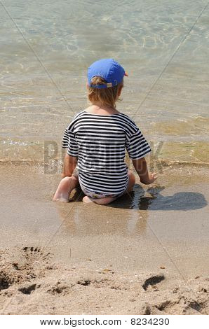 Child On Beach
