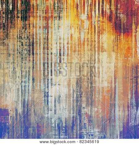 Abstract grunge background or old texture. With different color patterns: yellow (beige); brown; purple (violet); blue; red (orange)