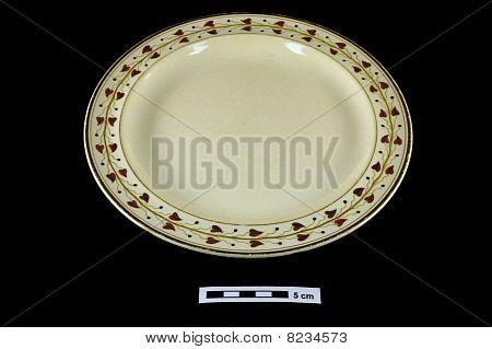 19th century ceramic plate