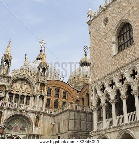 Venice Basilica Of Saint Mark