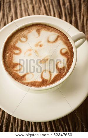 Cup Of Vintage Coffee