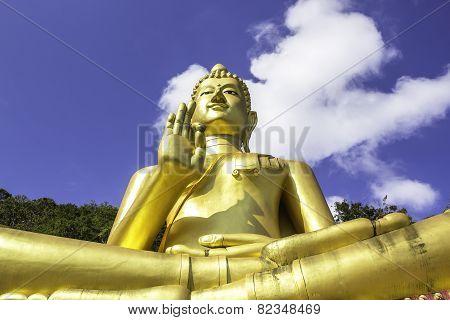 Big Gloden Buddah