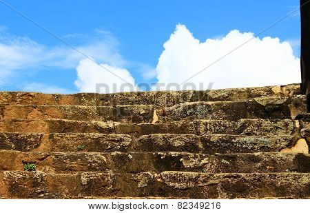 Stairs in Galle Fort