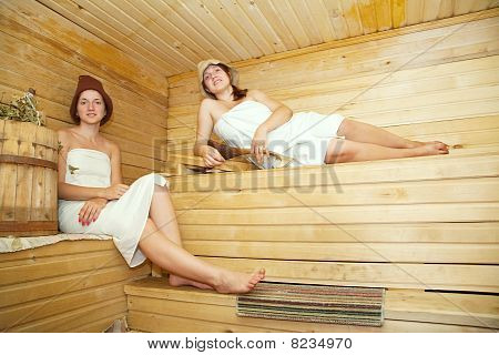 Women At Sauna