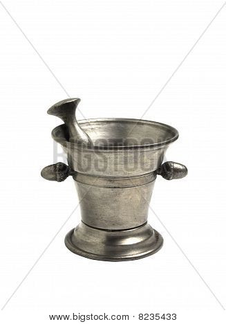 Metal Mortar And Pestle
